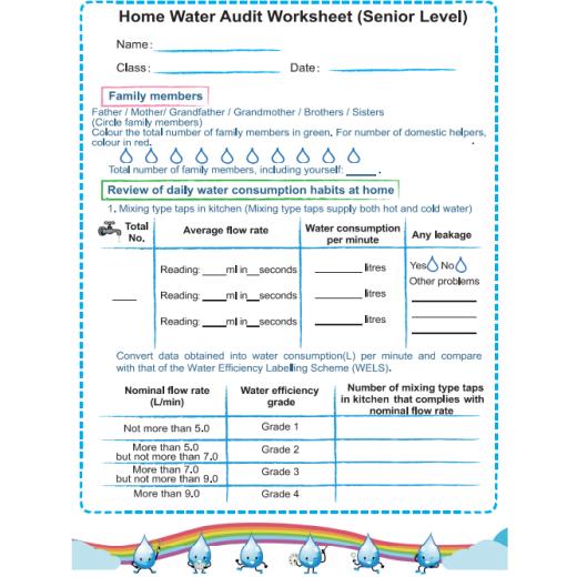 Water Use Calculator Worksheet Nidecmege Water footprint calculator worksheet