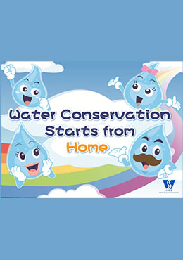 Water Conservation Starts from Home (P1 - P3)